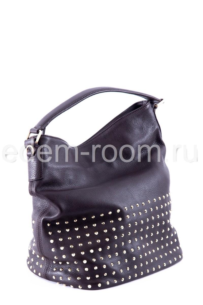 Кожаная сумка Burberry
