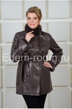 Удлинённая куртка на пуговицах