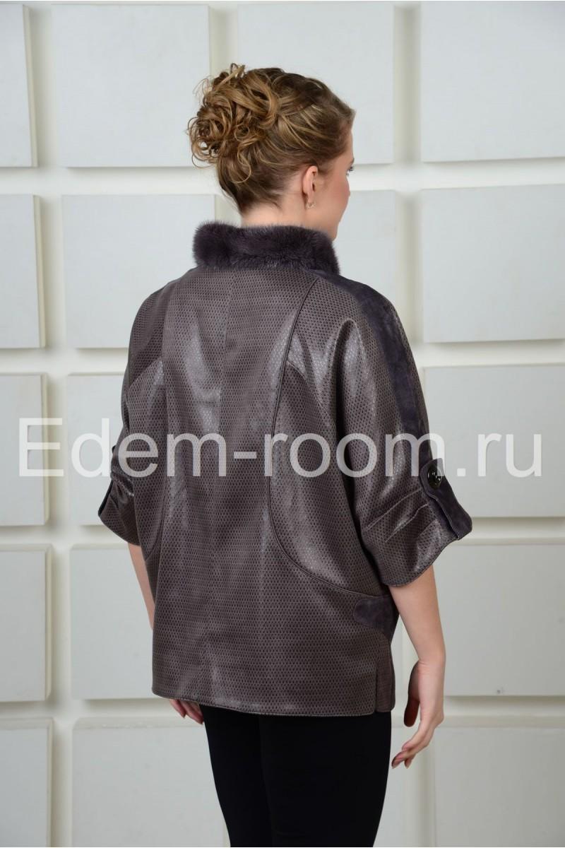 Стильная  куртка бомпер