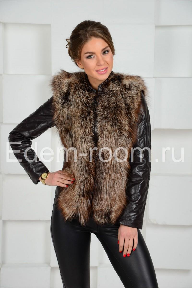 Демисезонная куртка -  жилетка