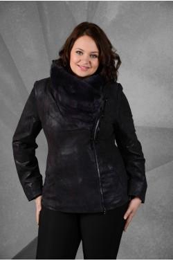 Кожаная куртка на крупные размеры