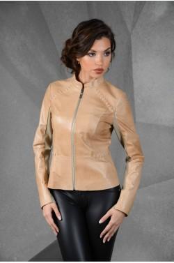 кожаная женская куртка - Весна
