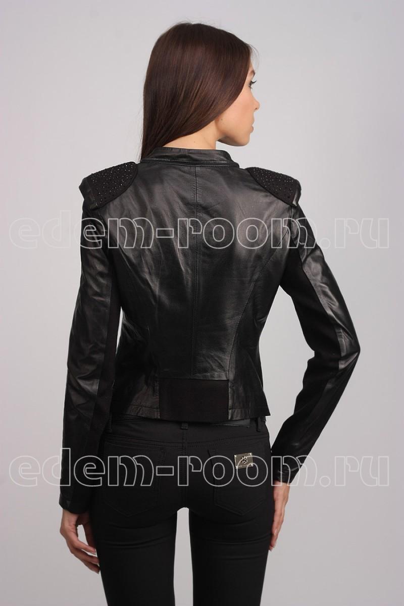 Женская куртка из натуральной кожи Milansimi