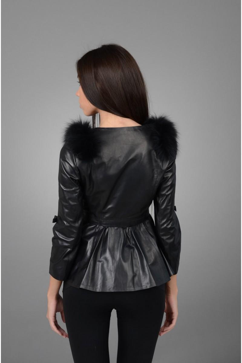 Кожаная куртка женская НОВИНКА.