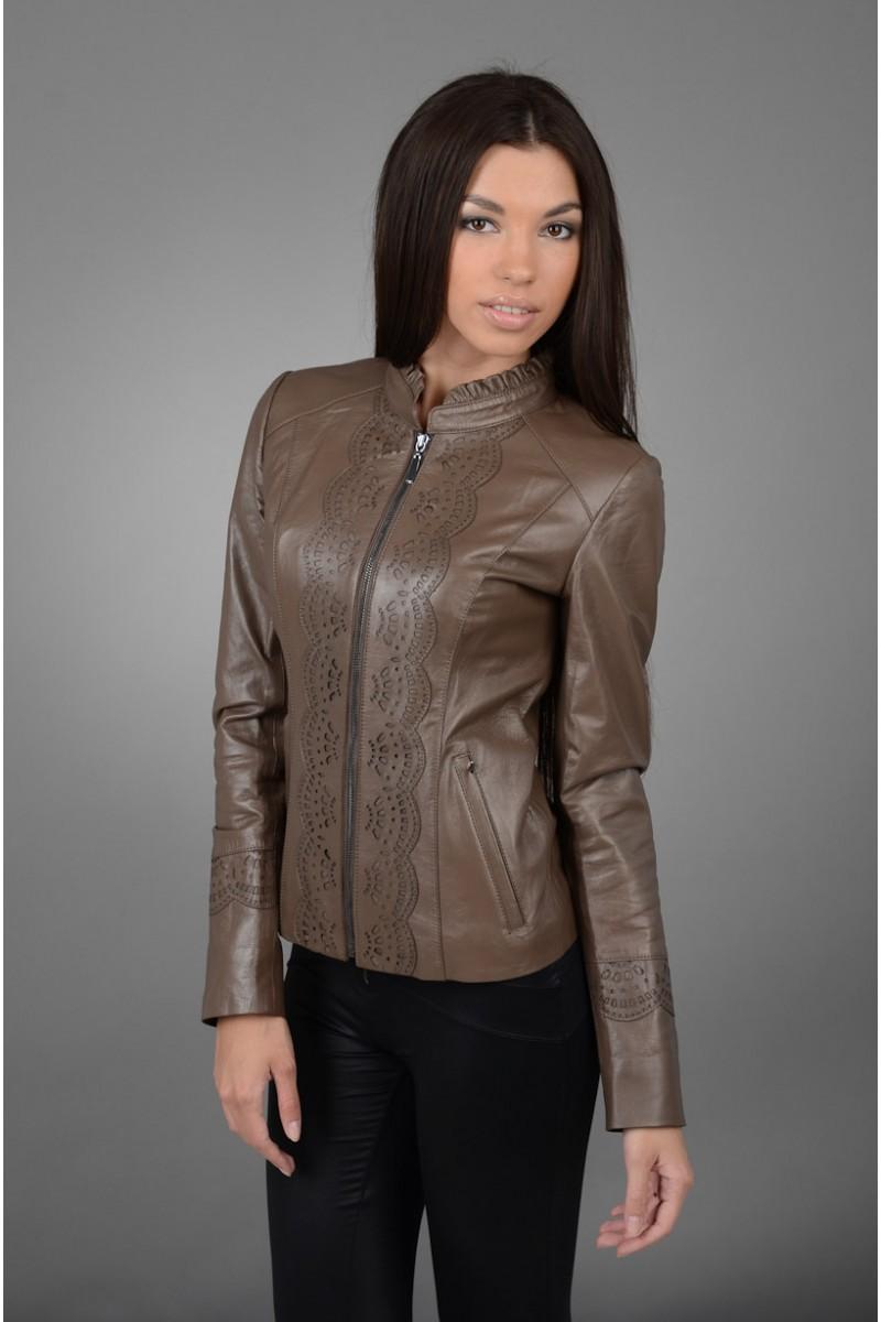 Женская кожаная куртка коллекция