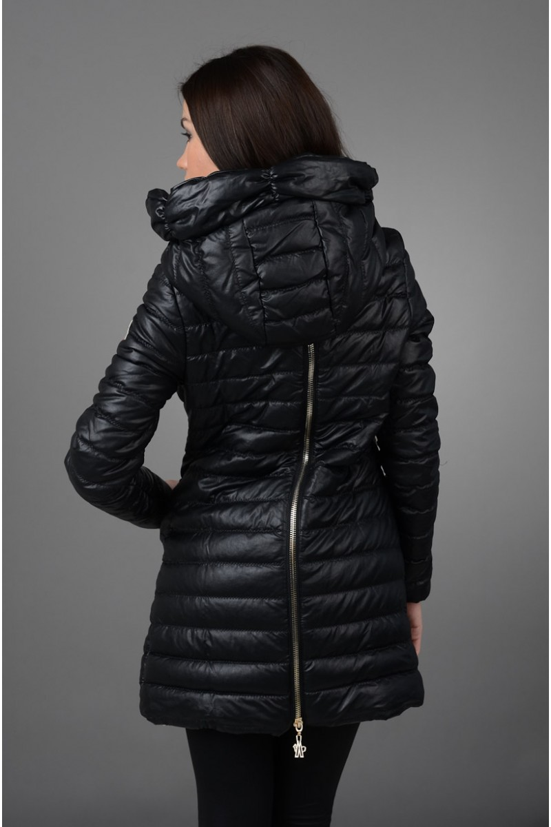 """Пальто из """"Эко-кожи"""" Moncler"""