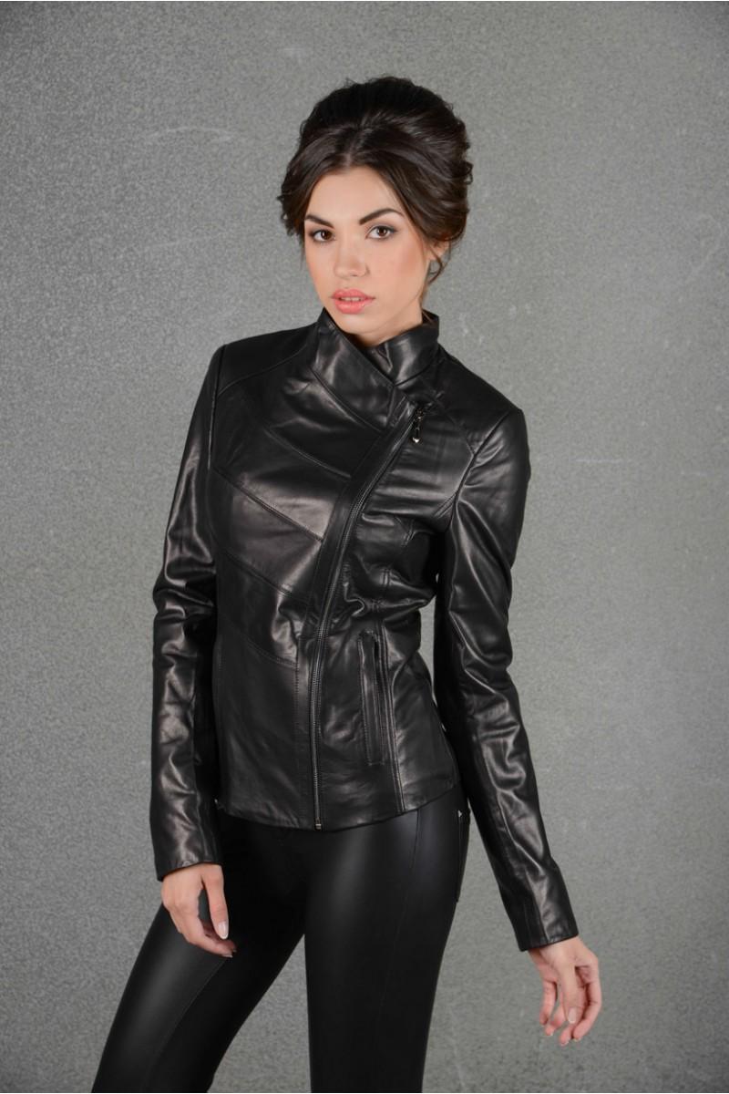 Новинка! Кожаная куртка женская
