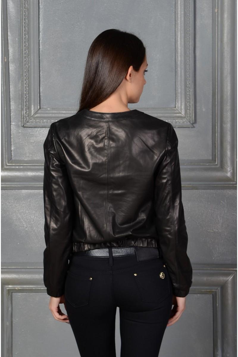 Кожаная куртка от MilanMisi
