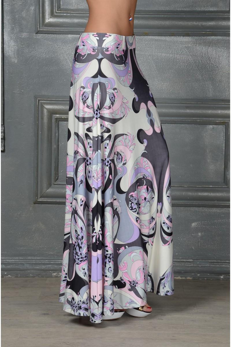 Удлинённая юбка