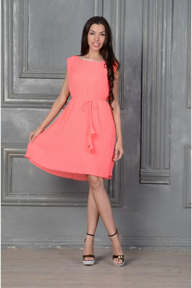 Платье пляссе