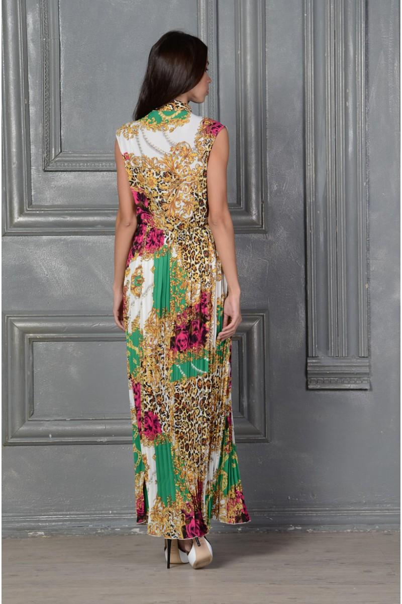 Длинное платье сарафан