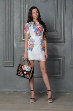 Стильное платье Dolce&Gabbana - кружево.