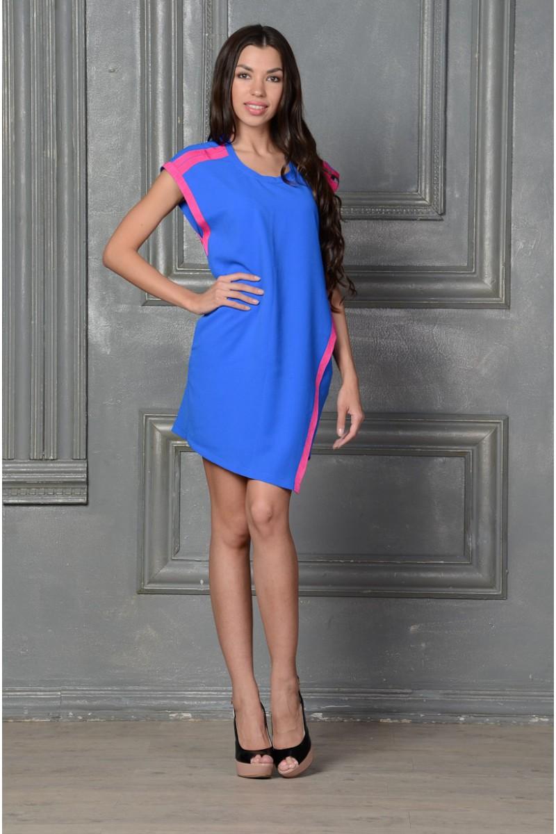 Стильное шёлковое платье