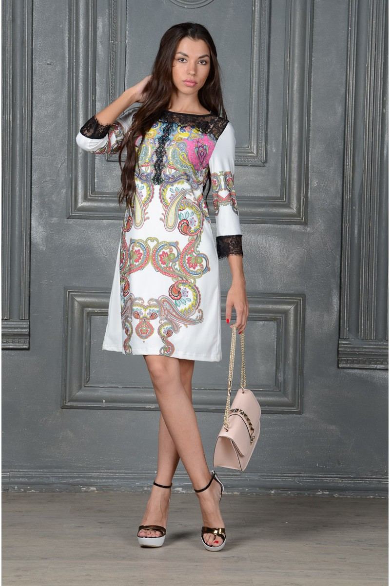 Шёлковое платье