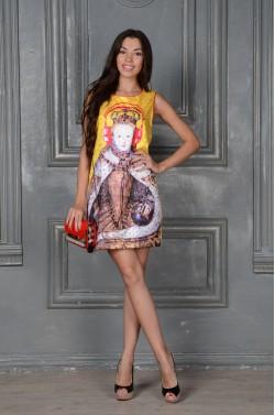 Шёлковое летнее платье
