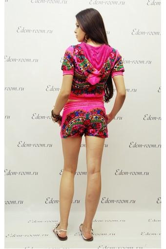 Розовый костюм (матрешка)